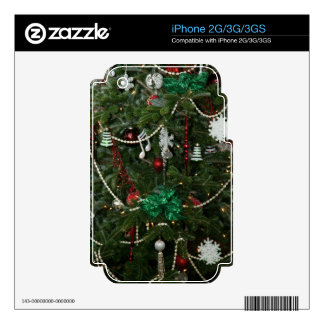 Christmas Holiday iPhone Skin 2G 3G 3GS Decal For The iPhone 3
