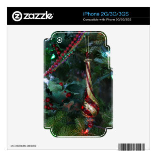 Christmas Holiday iPhone Skin 2G 3G 3GS iPhone 2G Decals