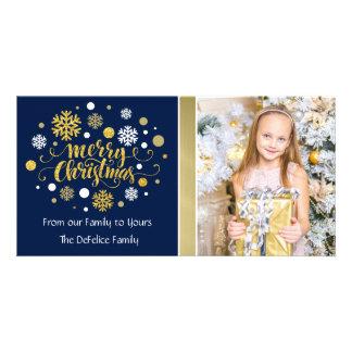 Christmas Holiday - Merry Christmas Shimmer Card