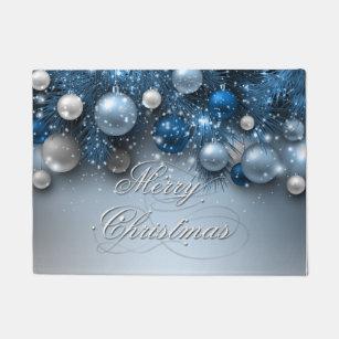 Christmas Doormats Amp Welcome Mats Zazzle