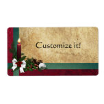 Christmas Holiday package labels + Gift Tags