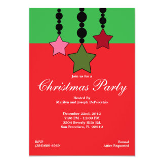 Christmas Holiday Party Invite