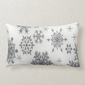 Christmas Holiday Pattern Snowflake Pillow