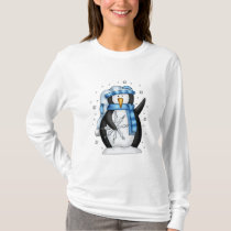 Christmas Holiday Penguin T-Shirt