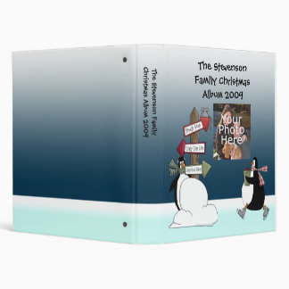 Christmas Holiday Photo Album Scrapbook Binder