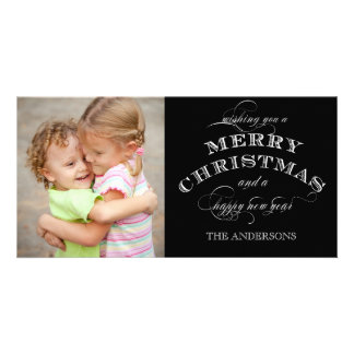 CHRISTMAS HOLIDAY PHOTO CARD