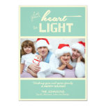 "Christmas Holiday Photo Cards 5"" X 7"" Invitation Card"