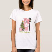 Christmas Holiday Pig t-shirt
