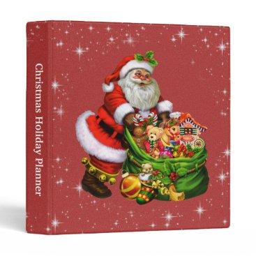 Christmas Themed Christmas Holiday Planner Binder