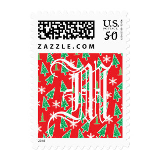 Christmas Holiday Postage