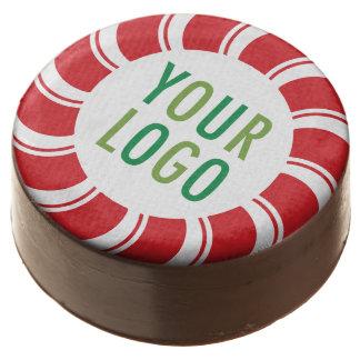 Christmas Holiday Promotional Cookies Company Logo