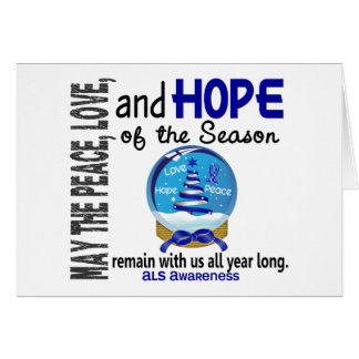 Christmas Holiday Snow Globe 1 ALS Card