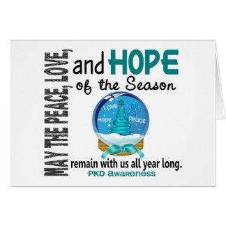 Christmas Holiday Snow Globe 1 PKD Card