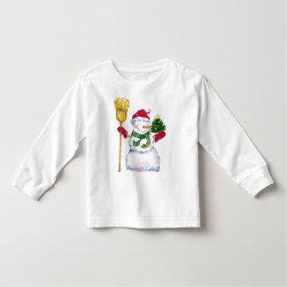 Christmas Holiday Snowman Kid's Shirt