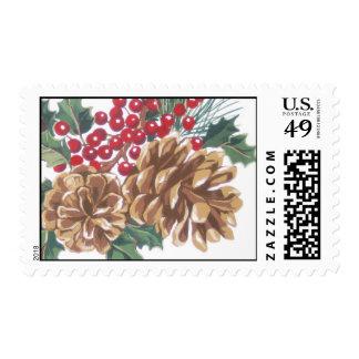 Christmas/ Holiday Stamp