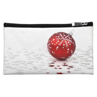 Christmas Holiday Stars Cosmetic Bags