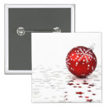 Christmas Holiday Stars Button