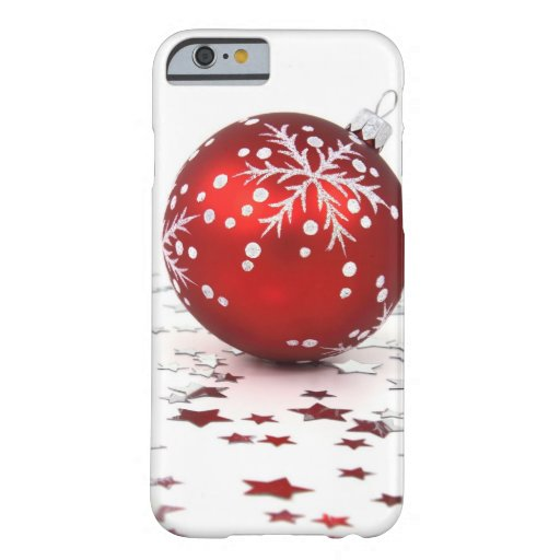 Christmas Holiday Stars iPhone 6 Case