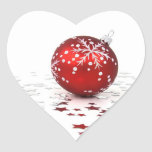 Christmas Holiday Stars Heart Stickers