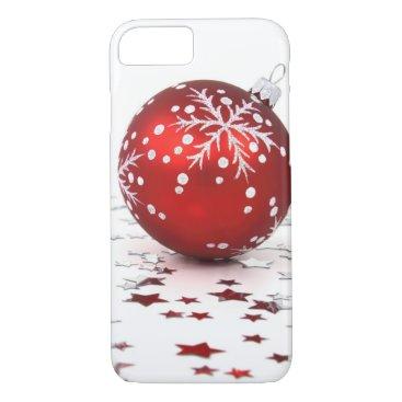 Christmas Themed Christmas Holiday Stars iPhone 7 Case