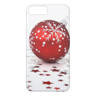 Christmas Holiday Stars iPhone 7 Plus Case