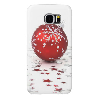Christmas Holiday Stars Samsung Galaxy S6 Case