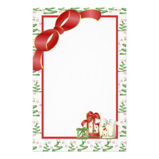 Christmas Holiday Custom Stationery