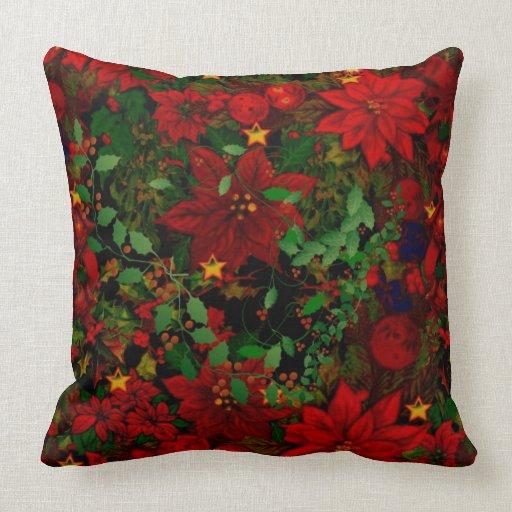 christmas throw pillows holiday gustitosmios With christmas throws and pillows