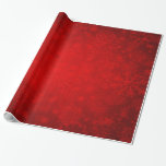 "Christmas Holiday - Vibrant Red with Snowflakes Wrapping Paper<br><div class=""desc"">Christmas Holiday - Vibrant Red with Snowflakes gift wrapping paper</div>"