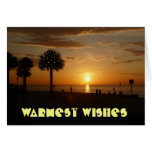 Christmas Holiday Warmest Wishes Greeting Cards