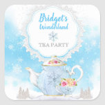 """Christmas Holiday Winter Tea Party Stickers<br><div class=""""desc"""">Christmas Holiday Winter Tea Party Stickers</div>"""