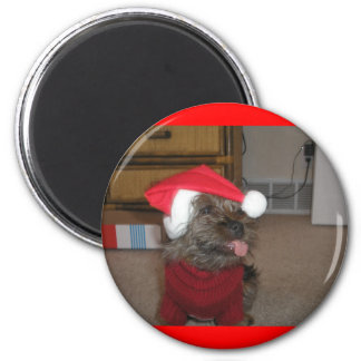 Christmas Holidays 018 2 Inch Round Magnet
