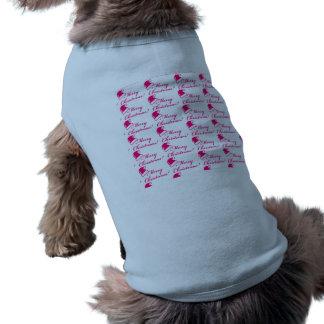 Christmas Holidays Dog Tank Top Custom Large Pet Tshirt