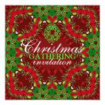 Christmas Holidays Gathering Invitation