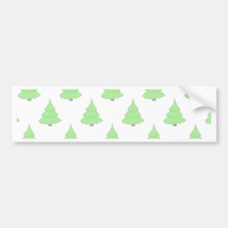 Christmas, holidays, joy, green colors, tree decor bumper sticker