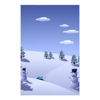 Christmas Holidays Stationery
