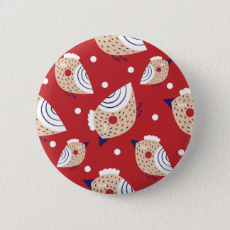 Christmas, holidays, tree decorations, pattern button