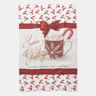 Christmas Holidys, Best Time of the Year Kitchen Towel