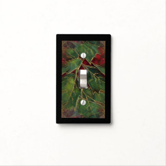 Christmas Hollie Light Switch Cover