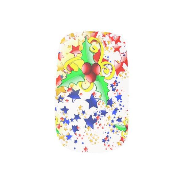 Cool christmas stuff cute christmas nail art wrap ideas for Cool christmas art