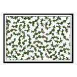Christmas Holly Background Business Cards