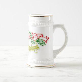 Christmas Holly & Bells Mug