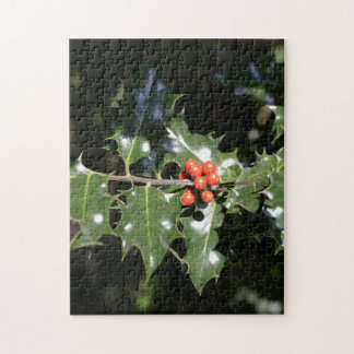 Christmas Holly Berries Jigsaw Puzzle