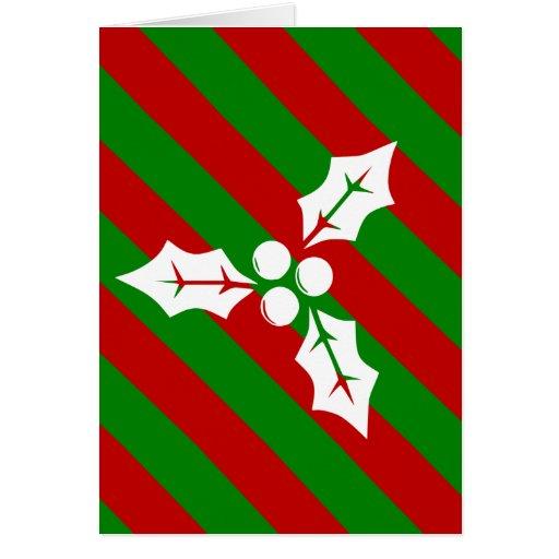 Christmas Holly Card