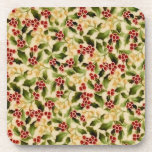 Christmas Holly Coasters