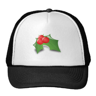 Christmas Holly Trucker Hat