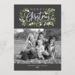 "Christmas Holly-Holiday Photo Card<br><div class=""desc"">Christmas Holly,  Holiday photo card. Customizable. Part of a collection</div>"