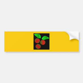 Christmas Holly IV Bumper Sticker