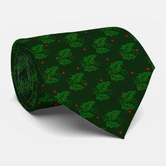 Christmas Holly Neck Tie