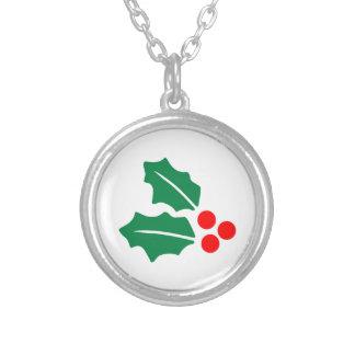 Christmas Holly Pendants
